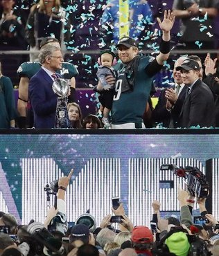 Philadelphia Eagles win Super Bowl 52