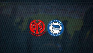 Mainz 05 - Hertha Berlin maçı ne zaman, saat kaçta ve hangi kanalda canlı yayınlanacak? | Almanya Bundesliga