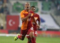 Feghouli'nin ilk şutu gol oldu!