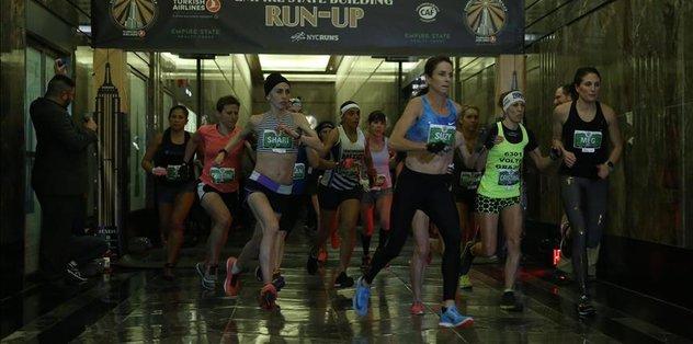 Runners climb Empire State