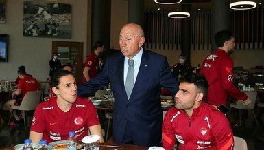 """TFF Başkanı Nihat Özdemir'den seyirci açıklaması! """"Sadece milli maç için alınan karar"""""""