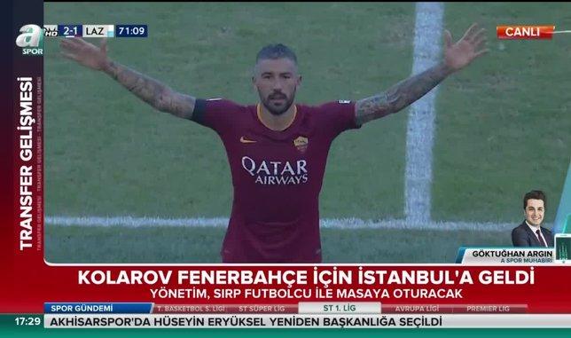 Aleksandar Kolarov Fenerbahçe için İstanbul'a geldi