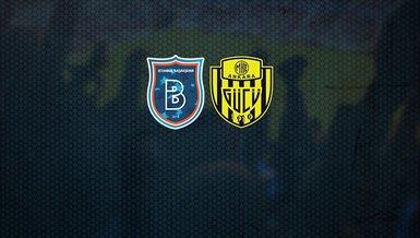 Başakşehir - Ankaragücü maçı CANLI