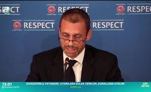 UEFA 55 ülke federasyonu ile görüşecek