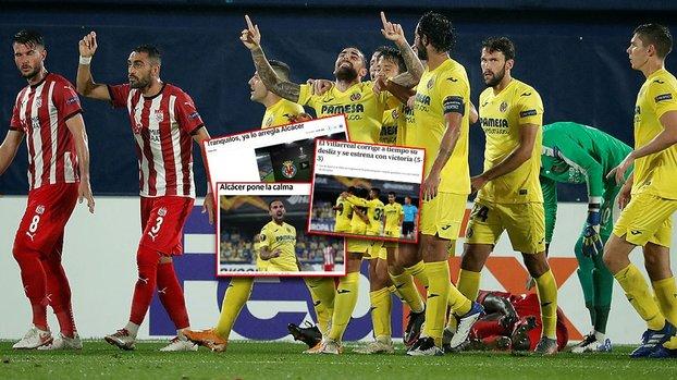 Villarreal-Demir Grup Sivasspor maçı İspanyol basınında! #