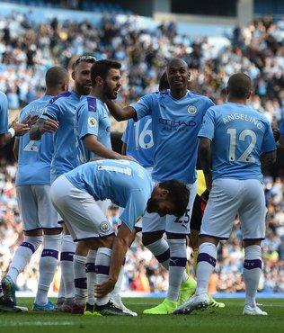 MAÇ SONUCU Manchester City 8-0 Watford ÖZET