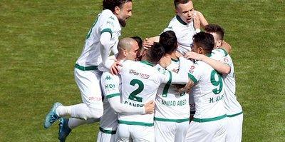 Ligin ikinci yarısı Giresunspor'a yaramadı