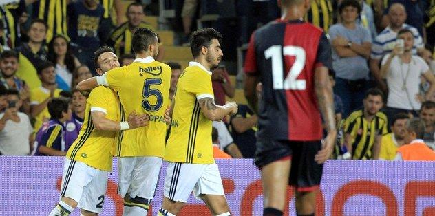 Fenerbahçe'yi Valbuena sırtladı