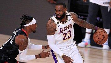 LeBron James Lakers'ı finale taşıdı!