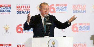 Cumhurbaşkanı Erdoğan'dan tribüne davet