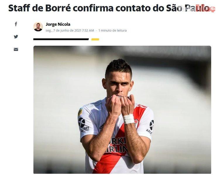 Son dakika transfer haberi: Beşiktaş'a Santos Borre'den kötü haber! Teklifi kabul etmedi