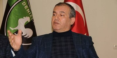 Denizlispor'da başkan Mustafa Üstek rahatsızlandı