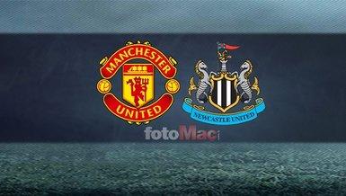 Manchester United Newcastle United maçı ne zaman, saat kaçta, hangi kanalda? Cristiano Ronaldo oynayacak mı ?