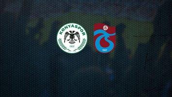 Konyaspor-Trabzonspor | CANLI