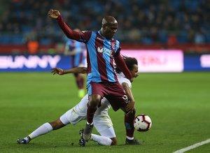 Trabzonspor - Antalyaspor maçından kareler...