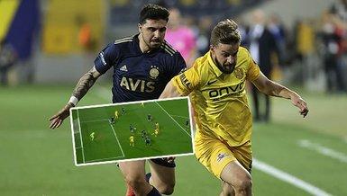 Son dakika spor haberleri: MKE Ankaragücü Fenerbahçe maçında penaltı beklentisi! İşte o pozisyon