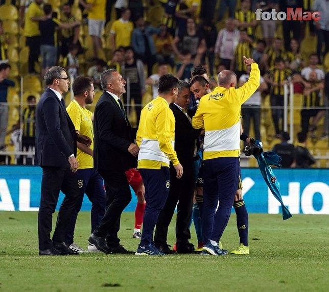 Fenerbahçe'de büyük kriz! Ersun Yanal  zor sakinleştirdi...