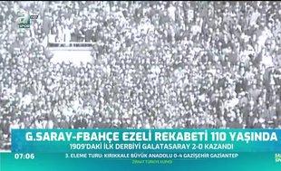 Galatasaray - Fenerbahçe ezeli rekabeti 110 yaşında