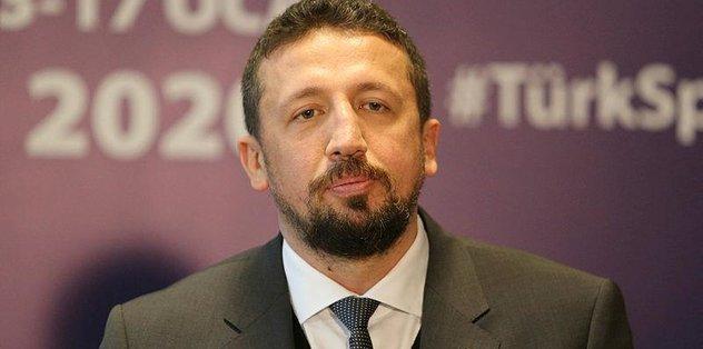 TBF Başkanı Hidayet Türkoğlu: Tecrübelerimizi diğer federasyonlarla paylaşmaya hazırız