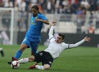 Beşiktaş - MKE Ankaragücü maçından kareler...