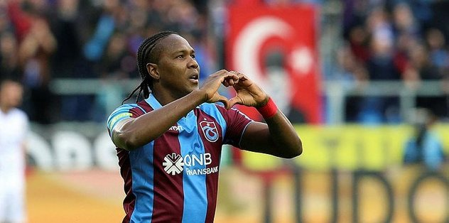 Trabzonspor'da vazgeçilmeyen adam Hugo Rodallega