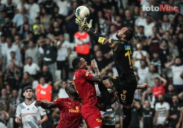 Beşiktaş - Göztepe maçından kareler...