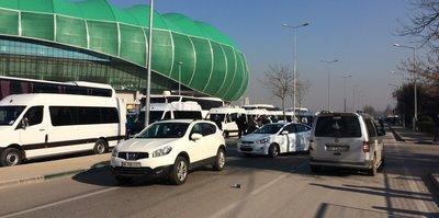 Bursaspor taraftarları Beşiktaş maçı için geliyor