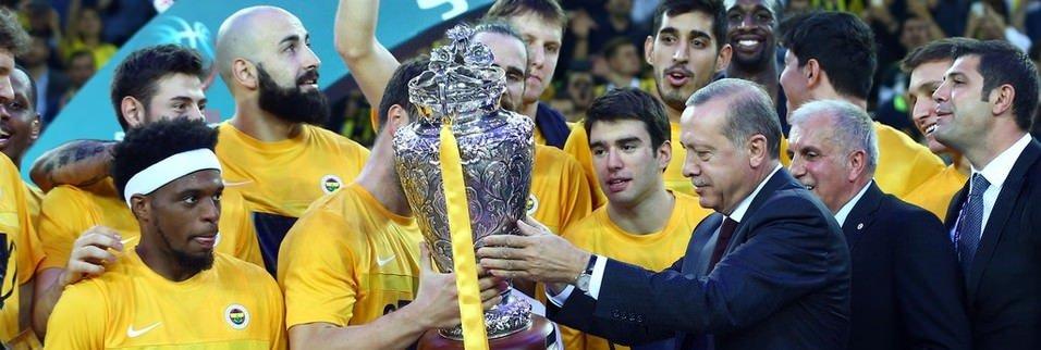Cumhurbaşkanlığı Kupası Fenerbahçe'nin