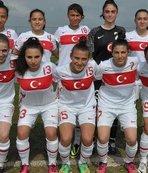 19 Yaş Altı Kadın Milli Futbol Takımı Belçika'ya yenildi