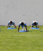 Trabzonspor antrenmanında dikkat çeken görüntü! Sörloth...