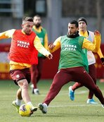 Galatasaray Denizlispor maçı hazırlıklarını tamamladı