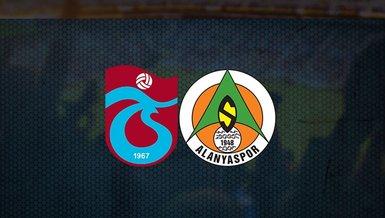 Trabzonspor Alanyaspor maçı ne zaman, saat kaçta ve hangi kanalda CANLI yayınlanacak? Muhtemel 11'lerde kimler var? İşte detaylar...