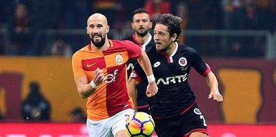 Galatasaray solda zorlanıyor