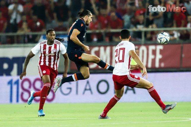 Olympiakos Başakşehir maçından kareler...
