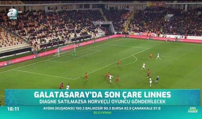 Galatasaray'da son çare Linnes