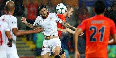 Sevilla beats Basaksehir for edge in CL