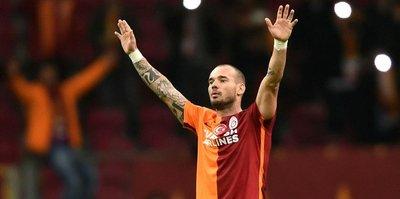Wesley Sneijder silindi!