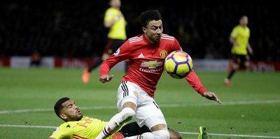 Manchester United zirve takibini sürdürdü