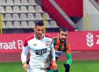 Kahramanmaraşspor - Alanyaspor maçından kareler