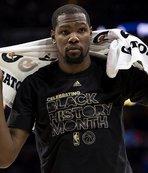 Kevin Durant sakatlandı