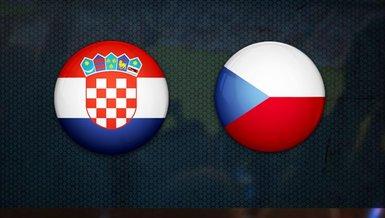 Hırvatistan Çekya maçı ne zaman saat kaçta hangi kanalda canlı yayınlanacak?