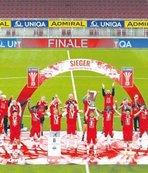 Avusturya kupası Salzburg'un