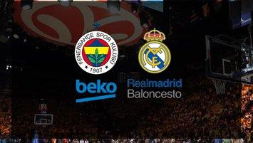 Fenerbahçe Beko - Real Madrid maçı ne zaman saat kaçta ve hangi kanalda?