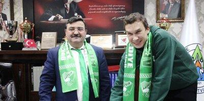 Artvin Belediyespor'a Rus pivot
