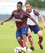 Trabzonspor'da yeni transfer Ekuban ilk antrenmanına çıktı