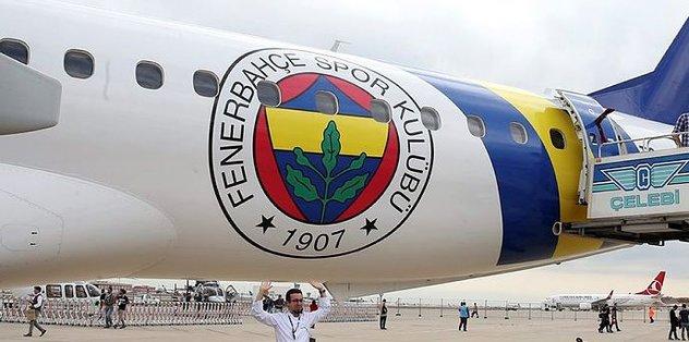 Fenerbahçe uçağında şok!