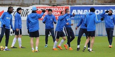 Trabzonspor'da Galatasaray maçı hazırlıkları başladı