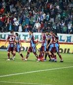 Rize'de kazanan Trabzonspor!