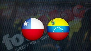 Şili - Venezuela maçı saat kaçta? Hangi kanalda?