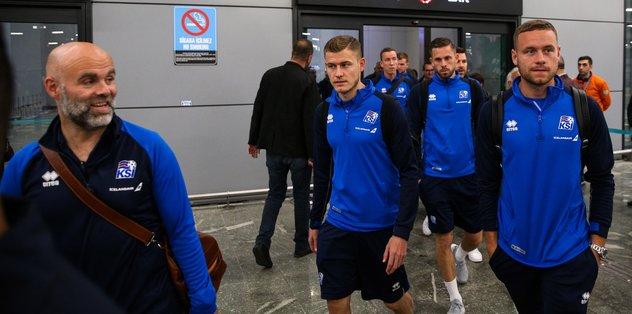 İzlanda Milli Takımı İstanbul'da! Bakın biz nasıl karşıladık?